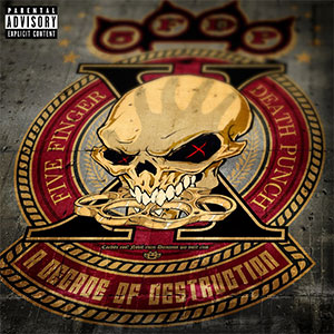 CD Cover Five Finger Death Punch