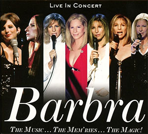 CD Cover Barbra Streisand