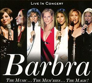 CD Cover Barbra Streisand