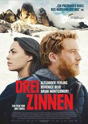 "Filmplakat ""Drei Zinnen"""