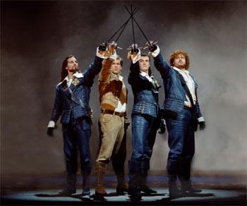 """""""3 Musketiere"""" - Das Musical (© Brinkhoff/Mögenburg)"""