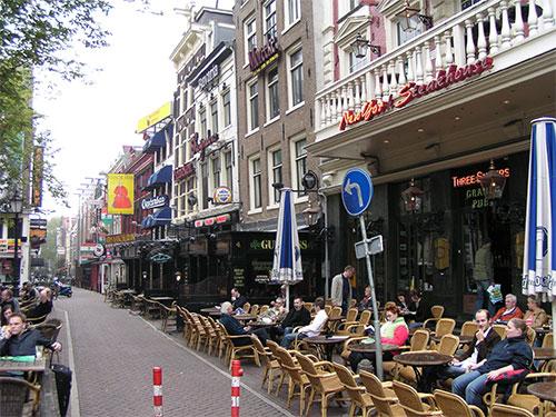 Amsterdam Restaurants (© Tobias Matkowitz)