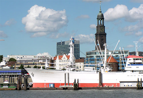 "Museumsschiff ""Cap San Diego"" in Hamburg (© Tobias Matkowitz)"