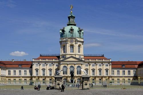 Schloss Charlottenburg in Berlin - Charlottenburg (©2009 BTM/Scholvien)