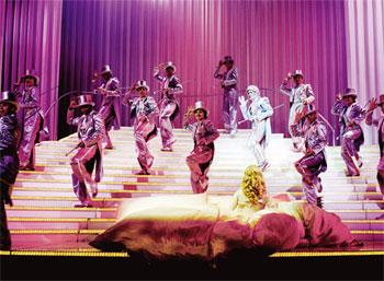 """""""Barbarella"""" - Das Musical (© Vereinigte Bühnen Wien)"""