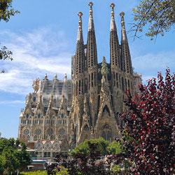 Barcelona Sagrada Familia (Foto: Patrice Audet / Quelle: Pixabay)