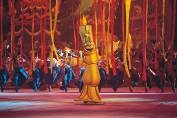 """Disney on Ice """"Die Schöne und das Biest"""" (© Disyney on Ice / Feld Entertainment)"""