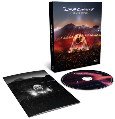 "Cover ""David Gilmour: Live At Pompeii"""