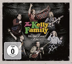 "Cover ""The Kelly Family: We Got Love - Live"""