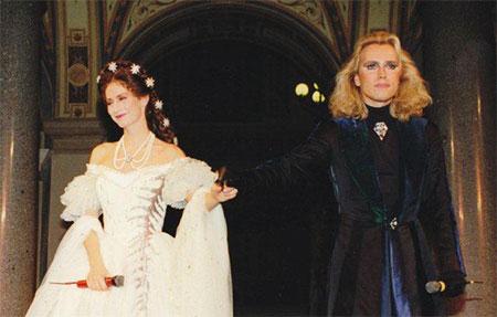 """Douwes und Kröger in """"Elisabeth"""" 1992 (Copyright des Fotos: Vereinigte Bühnen Wien)"""
