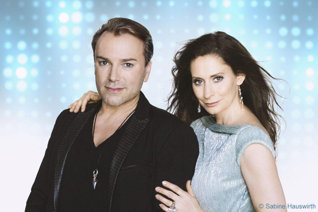 Pia Douwes und Uwe Kröger (Copyright des Fotos: Sabine Hauswirth)