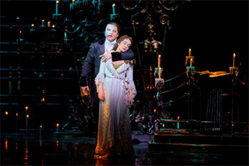 Das Phantom der Oper (© Stage Entertainment)