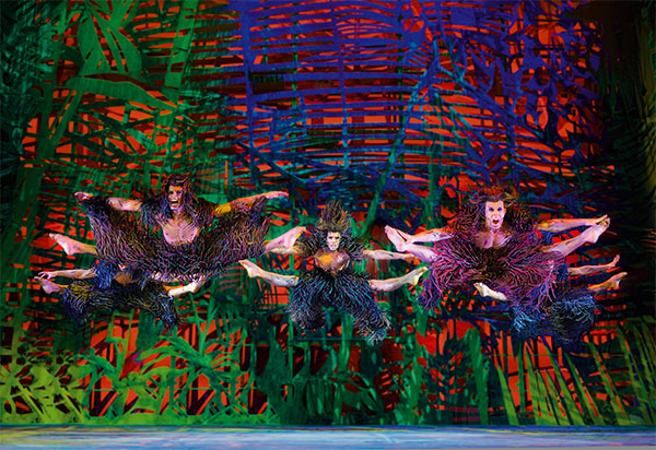 Disneys Musical TARZAN (Copyright des Fotos: Stage Entertainment)