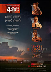"""Three Billboards Outside Ebbing, Missouri"" Filmplakat"