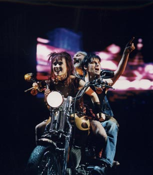 """""""We Will Rock You"""" Musical (© Hardy Müller)"""