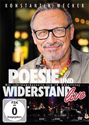 """Konstantin Wecker: """"Poesie und Widerstand – live"""""""