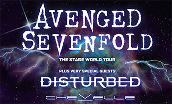 Avenged Sevenfold, Disturbed & Chevelle live 2017