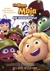 """""""Die Biene Maja - Die Honigspiele"""" Filmplakat"""