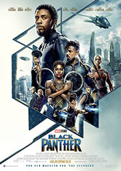 """Black Panther"" Filmplakat"