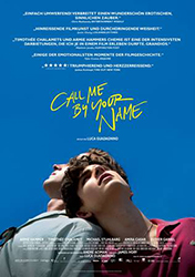 """Call Me By Your Name"" Filmplakat"