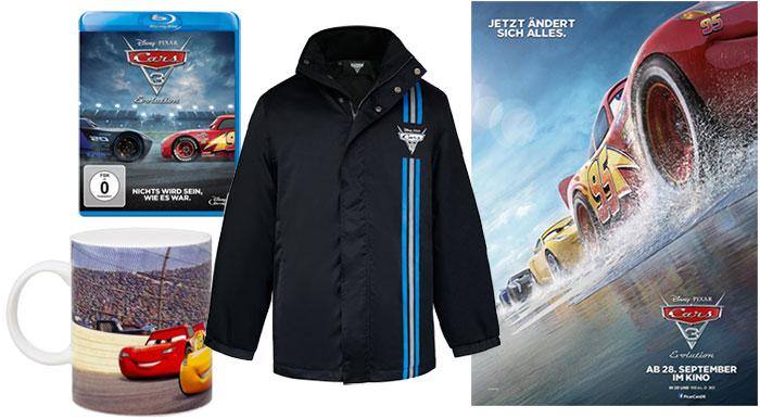 """Cars 3: Evolution"" Fanpaket"