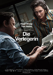 """""""Die Verlegerin"""" Filmplakat (© 2017 Universal Pictures Int.)"""