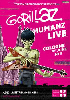 Gorillaz live 2017