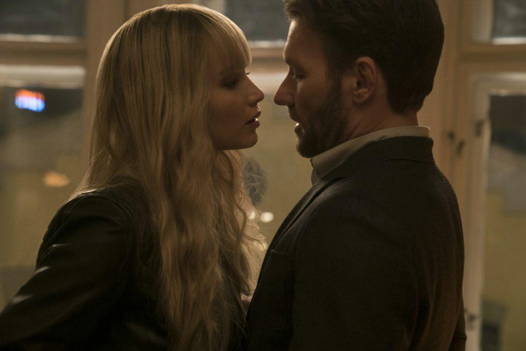"""Red Sparrow"" - Jennifer Lawrence (Dominika Egorova) und Joel Edgerton (Nathaniel Nash) - (© 2017 Twentieth Century Fox)"