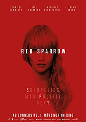 """Red Sparrow"" Filmplakat"