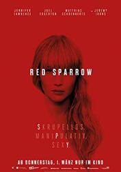 """""""Red Sparrow"""" Filmplakat"""