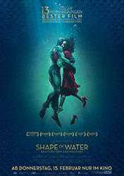 """Shape Of Water"" Filmplakat"
