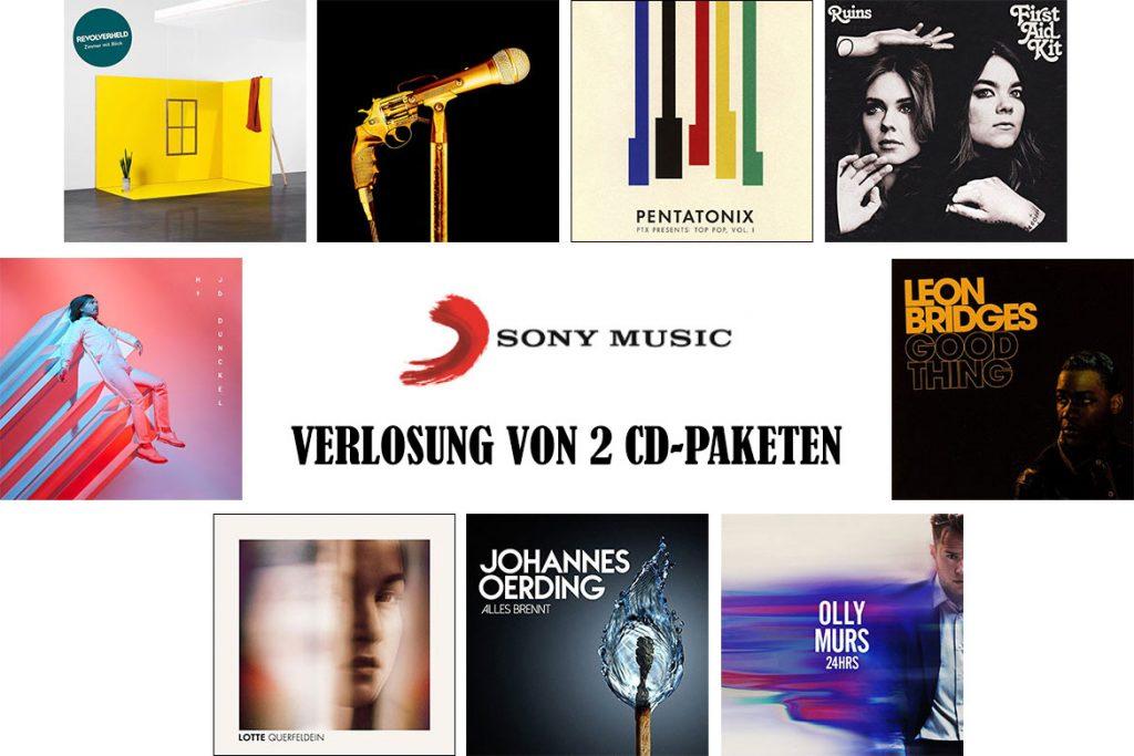Sony Music CD-Paket-Verlosung 2018