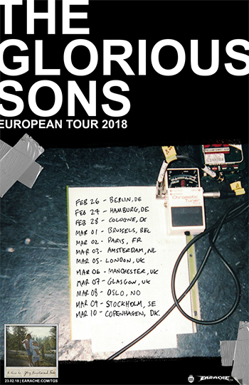 The Glorious Sons Konzertplakat