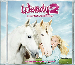 """Wendy 2- Freundschaft für immer"" Hörspiel-CD (© 2017 Sony Pictures Entertainment Deutschland GmbH / Bantry Bay Productions GmbH / Tom Trambow)"