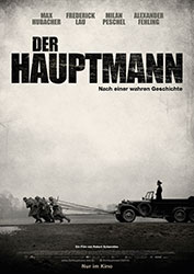 """Der Hauptmann"" Filmplakat"