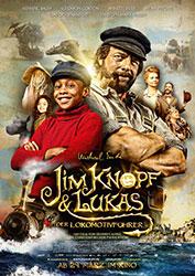 """""""Jim Knopf und Lukas der Lokomotivführer"""" Filmplakat"""