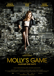 """Molly's Game"" Filmplakat"
