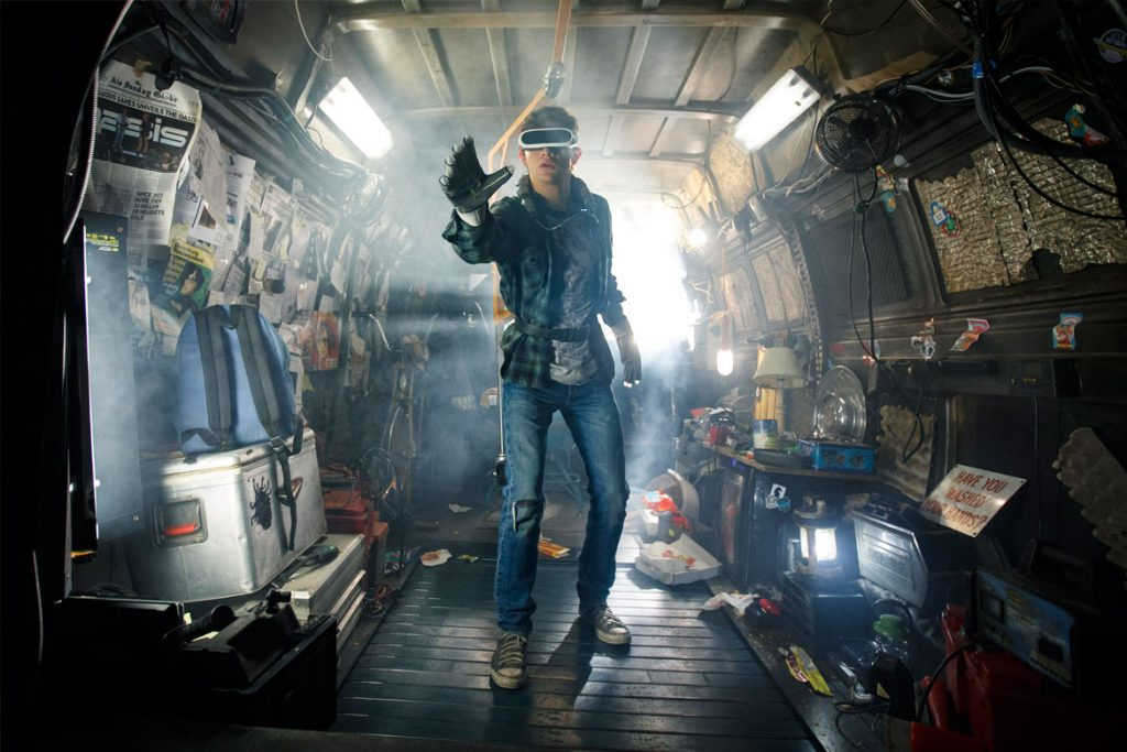 """Ready Player One"" (© 2018 WARNER BROS. ENTERTAINMENT INC., VILLAGE ROADSHOW FILMS NORTH AMERICA INC. AND RATPAC-DUNE ENTERTAINMENT LLC - U.S., CANADA, BAHAMAS & BERMUDA - Foto: Jaap Buttendijk)"