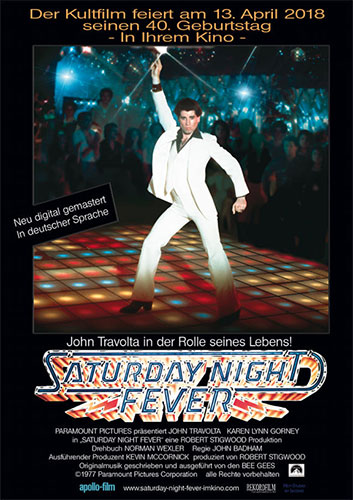 """Saturday Night Fever"" (© Paramount Pictures Corporation)"