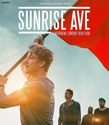 Sunrise Avenue Tour 2018 (© Contra Promotion)