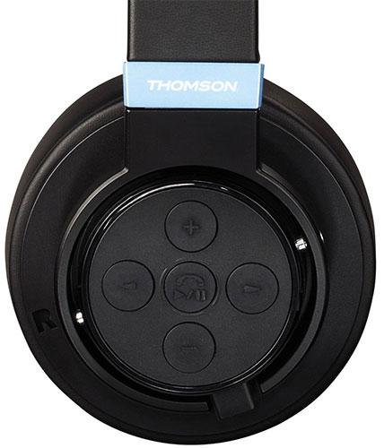 Thomson Bluetooth-Kopfhörer WHP 6207 Bedienelemente
