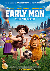 """""""Early Man - Steinzeit bereit"""" Filmplakat"""