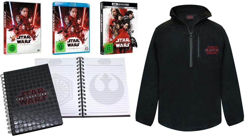 """""""Star Wars: Die letzten Jedi"""" Fanpaket"""