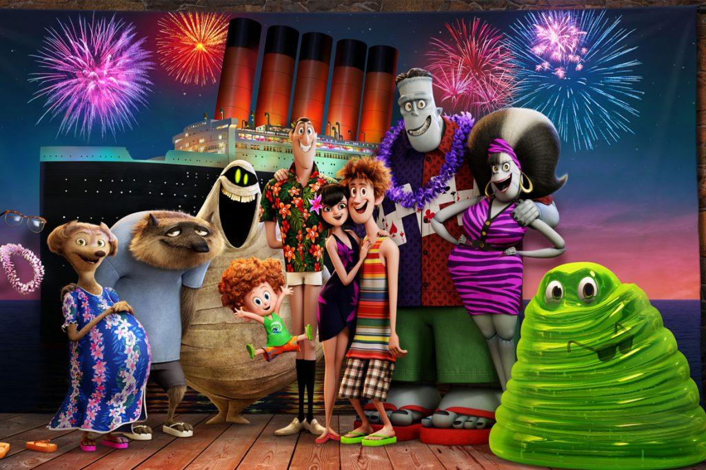 """Das Drac Pack in Sony Pictures' und Sony Pictures Animations' """"Hotel Transsilvanien 3 - Ein Monster Urlaub"""" (© 2017 Sony Pictures Entertainment Deutschland GmbH)"""