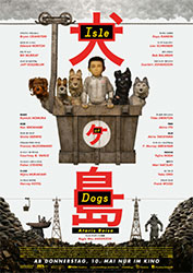 """Isle of Dogs – Ataris Reise"" Filmplakat"