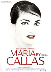 """Maria By Callas"" Filmplakat"