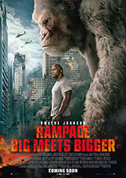 """Rampage - Big Meets Bigger"" Filmplakat"
