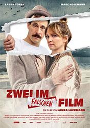 """""""Zwei im falschen Film"""" Filmplakat"""