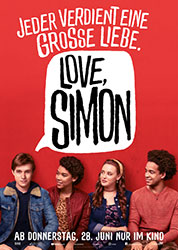 """Love, Simon"" Filmplakat"