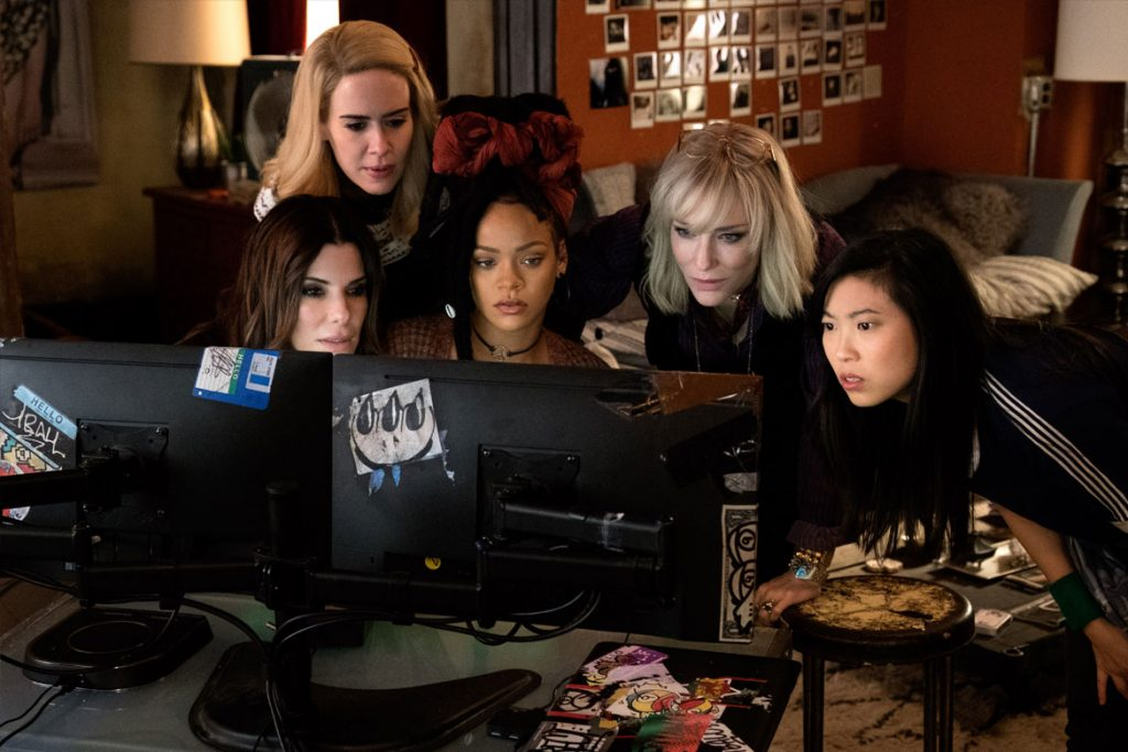 """Ocean's 8"" (Foto: © Barry Wetcher)"